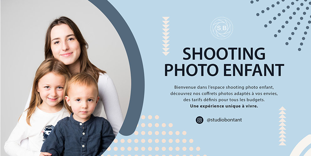 shooting photo enfant