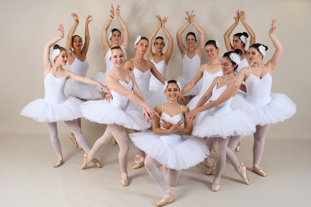 Gala de danse - photo de groupe en studio